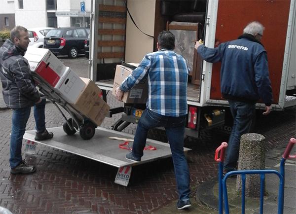 Leegruimen van woningen Rijnmond