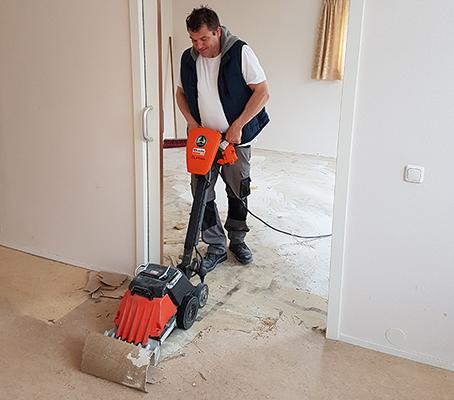 Vloer verwijderen Hoeksche Waard